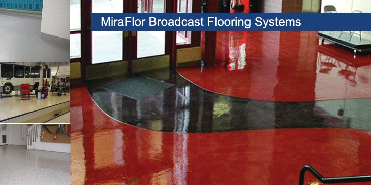 Broadcast Flooring
